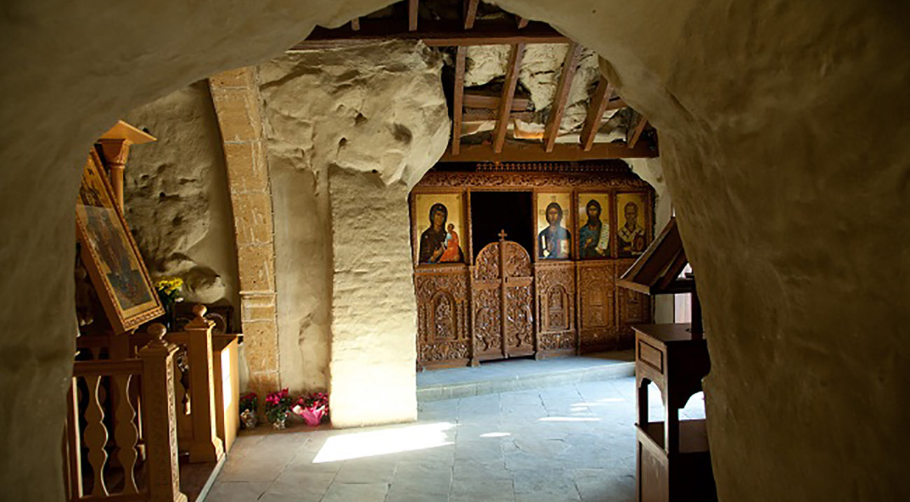 Panagia Chrysospiliotissa Church in a Cave